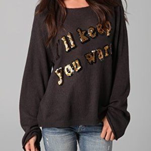 WILDFOX white label I'll keep you warm